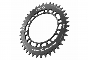 rotor plateau cyclo cross qcx1 bcd110 5 branches noir