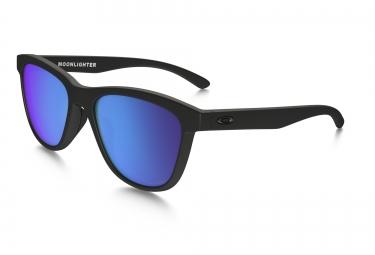 lunettes femme oakley moonlighter noir bleu iridium polarise ref oo9320 11