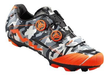 paire de chaussures vtt northwave extreme xcm orange camo