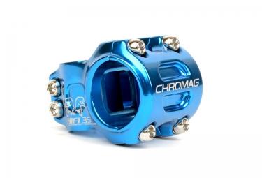 potence vtt chromag hi fi 35 bleu