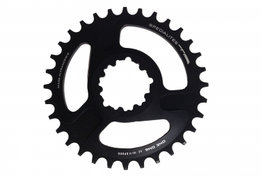 plateau specialites ta one dm direct mount compatible sram 10 11v noir