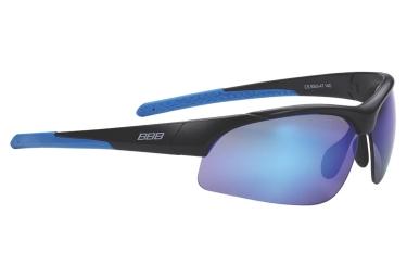 lunettes de cyclisme bbb imprress noir bleu