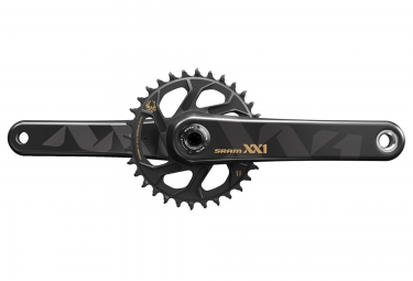 pedalier sram xx1 eagle avec plateau direct mount 32 dents gxp non inclus or