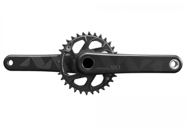 pedalier sram xx1 eagle avec plateau direct mount 32 dents bb30 non inclus noir
