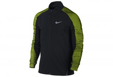 veste nike running noir vert