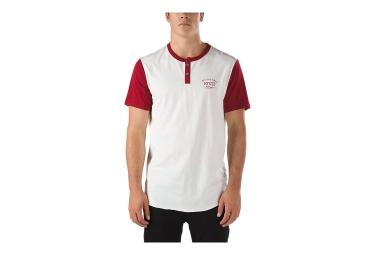 vans t shirt hitson blanc rouge
