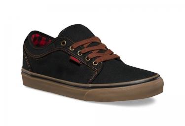 chaussures vans chukka low buffalo noir