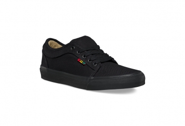 chaussures vans chukka low noir rasta