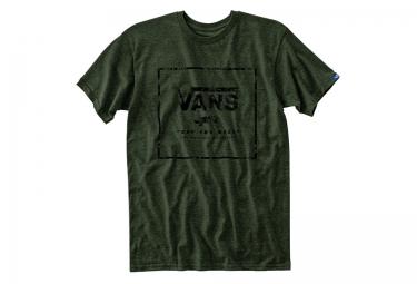 vans t shirt boxed in vert