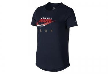 t shirt femme nike running noir