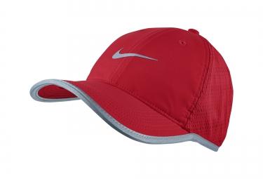 casquette de running nike featherlight rouge