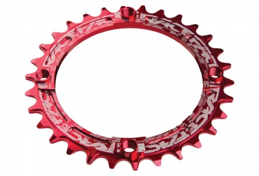 race face mono plateau narrow wide 104mm rouge taraude