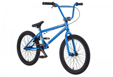bmx freestyle premium stray 20 5 bleu