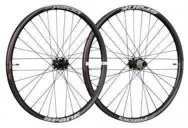 paire de roues spank oozy trail345 27 5 boost 15x110 mm 12x148 mm noir