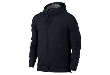 sweat a capuche nike dry training hoodie noir