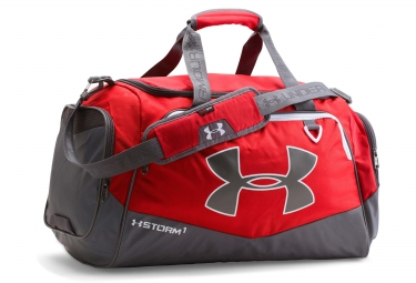 sac de sport under armour storm undeniable ii 60 l rouge gris