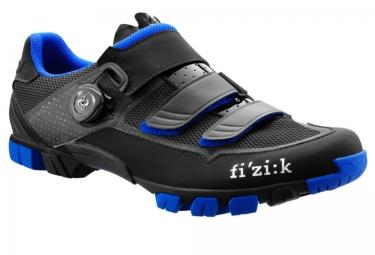 fizik chaussures vtt m6b uomo noir bleu