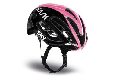 casque kask protone giro noir rose