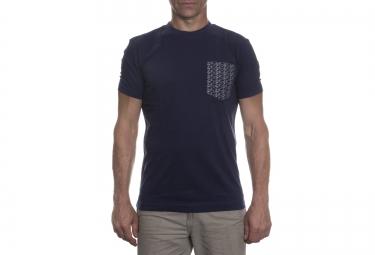 lebram t shirt pocket bike bleu marine
