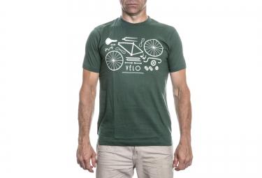 lebram t shirt velo remix vert kaki