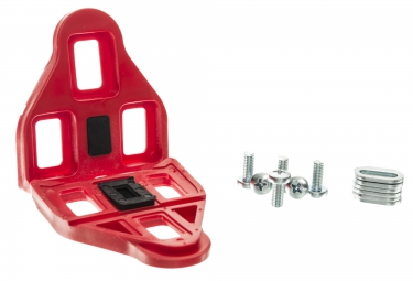 paire de cales neatt compatibles look keo rouge