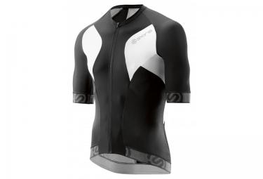maillot de compression skins cycle tremola due homme noir blanc