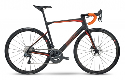 velo route bmc 2017 roadmachine rm01 shimano ultegra di2 11v gris orange