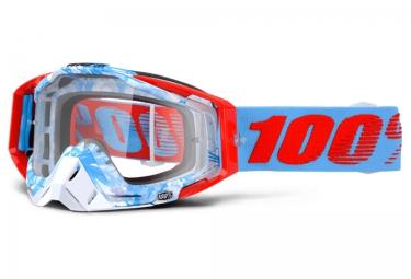 100 masque racecraft bobora bleu ecran transparent