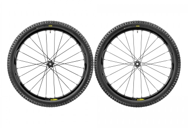 paire de roues vtt mavic xa elite 29 noir boost 15x110 12x148mm sram xd quest pro 2