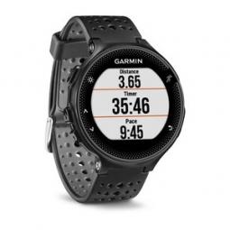 garmin montre gps forerunner 235 cardio frequencemetre integre noir gris