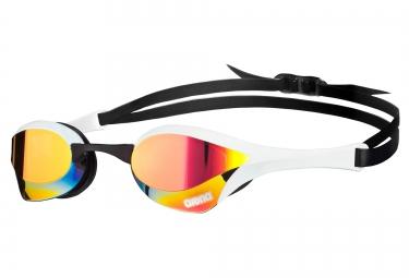 lunettes de natation arena cobra ultra mirror blanc rouge noir