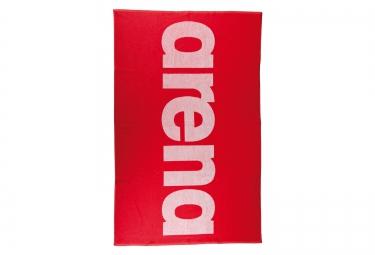 serviette arena handy rouge blanc