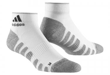 adidas chaussettes demi matelassees blanc