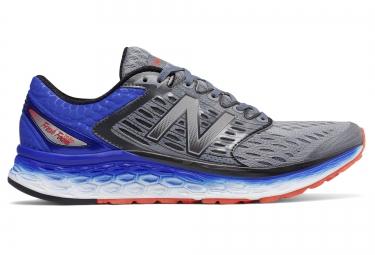 chaussures new balance m 1080 v6 gris bleu