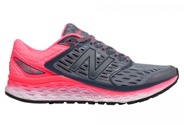 chaussures new balance w 1080 v6 argent rose