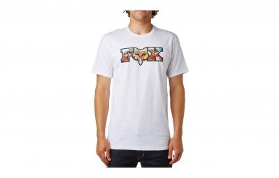 t shirt fox prefilter blanc
