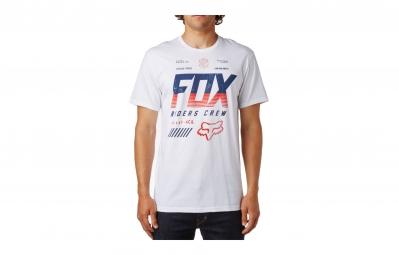 t shirt fox escaped blanc
