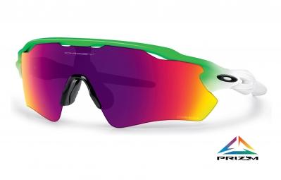 lunettes oakley radar ev path prizm road edition olympique vert ref oo9208 41