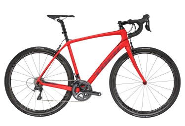velo route trek domane sl 6 2017 shimano ultegra 11v rouge
