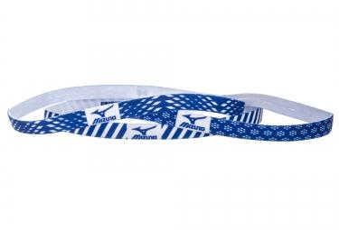 bandeaux femme 3 pieces mizuno training 3p bleu blanc