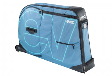 evoc sac velo bike travel bag 280l bleu