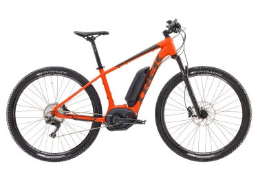 vtt electrique trek powerfly 7 500w 29 2017 shimano deore xt 11v orange mat