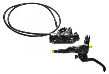 frein avant shimano xt m8000 j kit plaquettes organiques ventilees sans disque