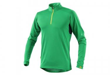 ne pas remettre en ligne mavic maillot manches longues red rock vert