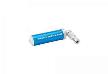 lezyne gonfleur co2 alloy drive 16gr bleu