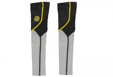 manchettes skins essentials noir gris jaune