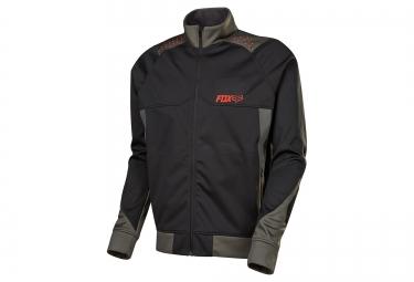 veste coupe vent deperlant fox bionic light noir gris