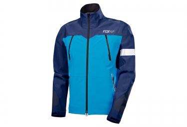 veste coupe vent impermeable fox downpour pro bleu