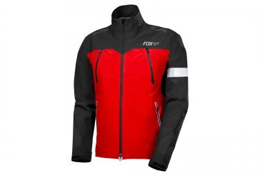 veste coupe vent impermeable fox downpour pro rouge noir