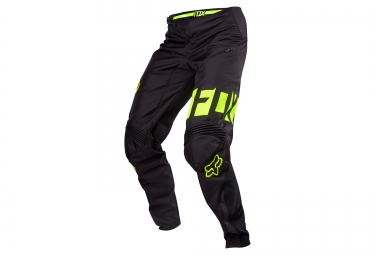 pantalon deperlant fox demo dh noir jaune